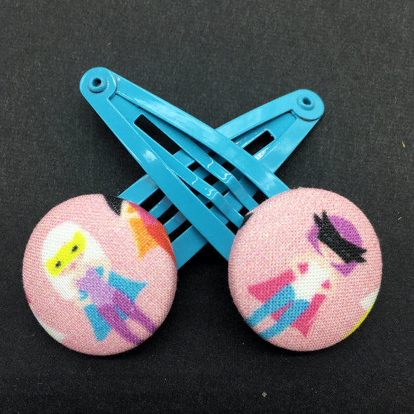 Twin Pack Snap Clips - We can be heroes!