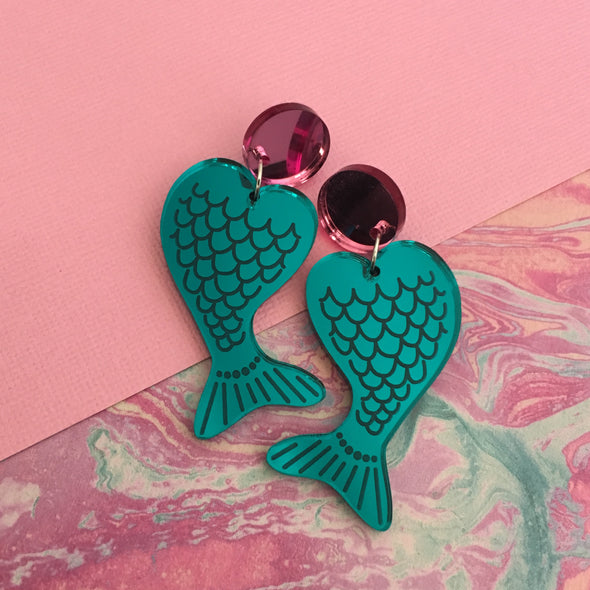 Statement Dangles - Mermaid Tales