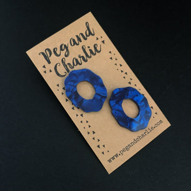 Statement Studs - Wobbly Circles