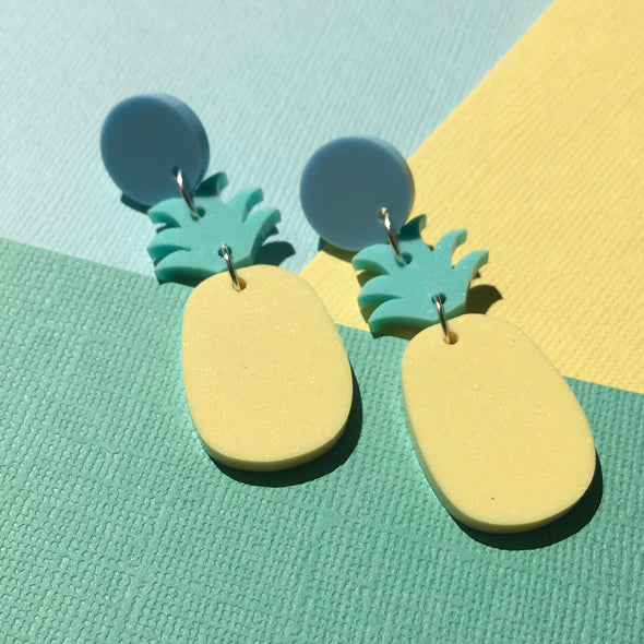 Statement Dangles - Pineapples