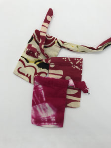 Off-cut Batik Pouch (Small)
