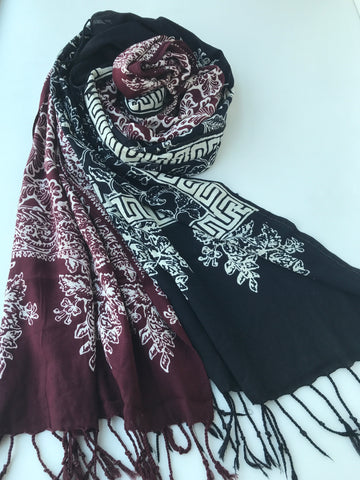 Batik Cotton Shawl