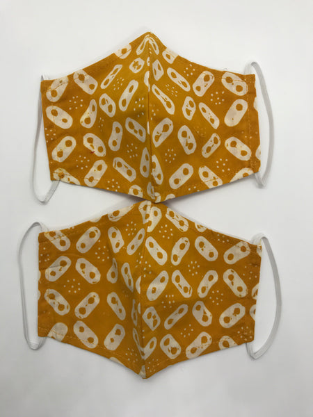 Face Mask (Curved/Olson, Batik Cap) - REGULAR