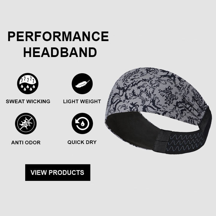 ReDesign Silicone Headband For Running