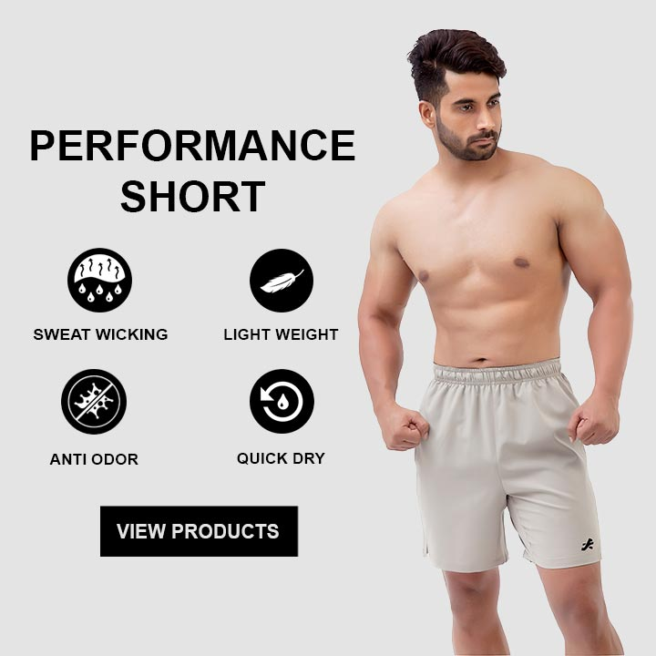 ReDesign Athletic Running Gym Shorts For Men