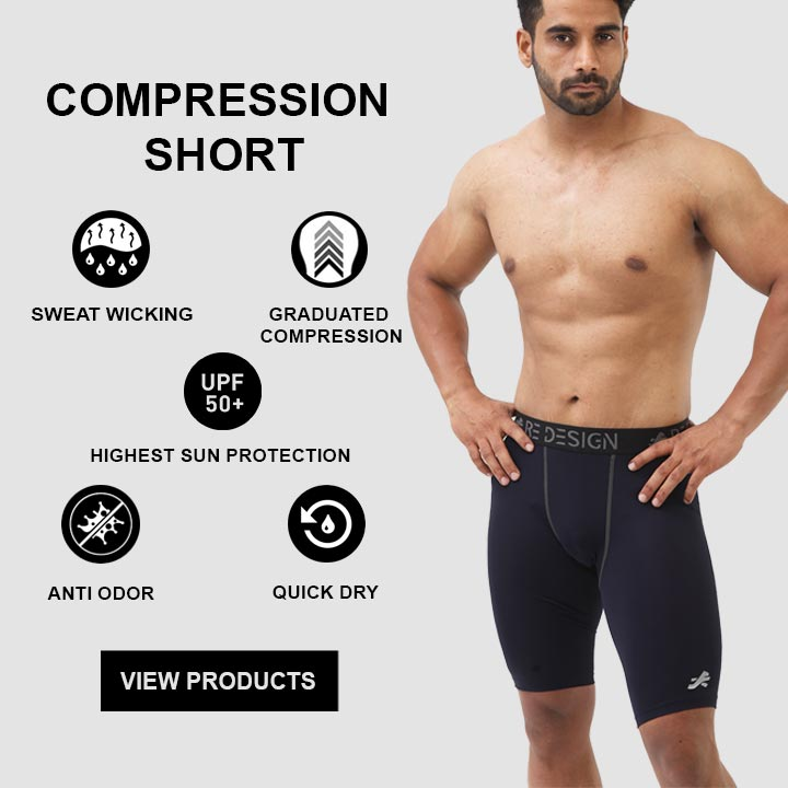 ReDesign Baselayer Compression Short For Men