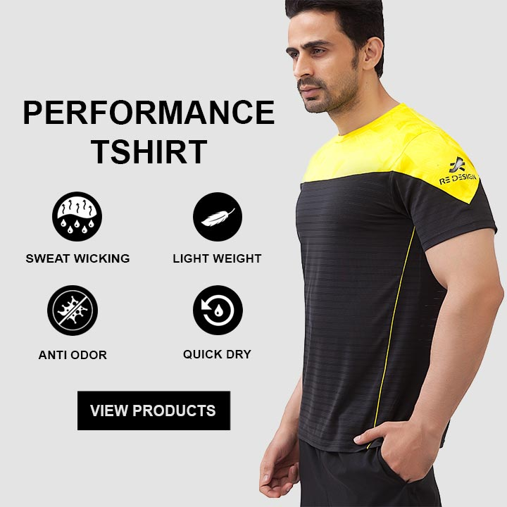 ReDesign Gym Tshirt For Men
