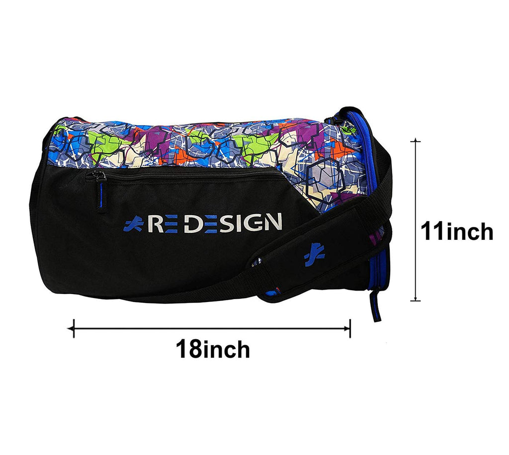 Redesign Gym Bag With Shoe Compartment (BLUE PRINT)