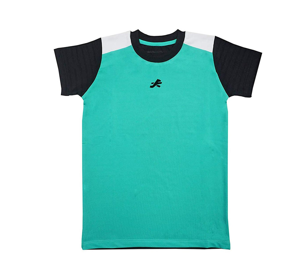 ReDesign Boys Perfomance Tshirt (Block Green)