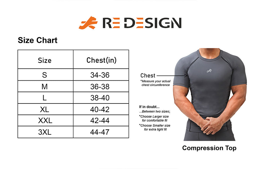 Polyester Compression Tshirt Half Sleeve Tights For Men (Heather Grey)