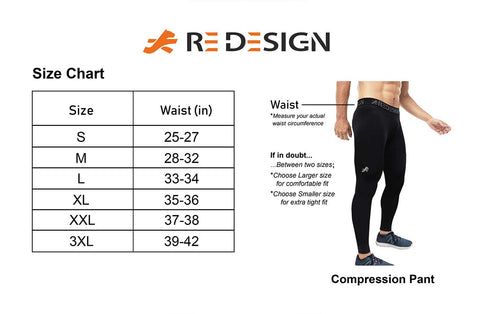 Nylon Compression Pant and Full Tights For Men (BLACK/SKY BLUE)