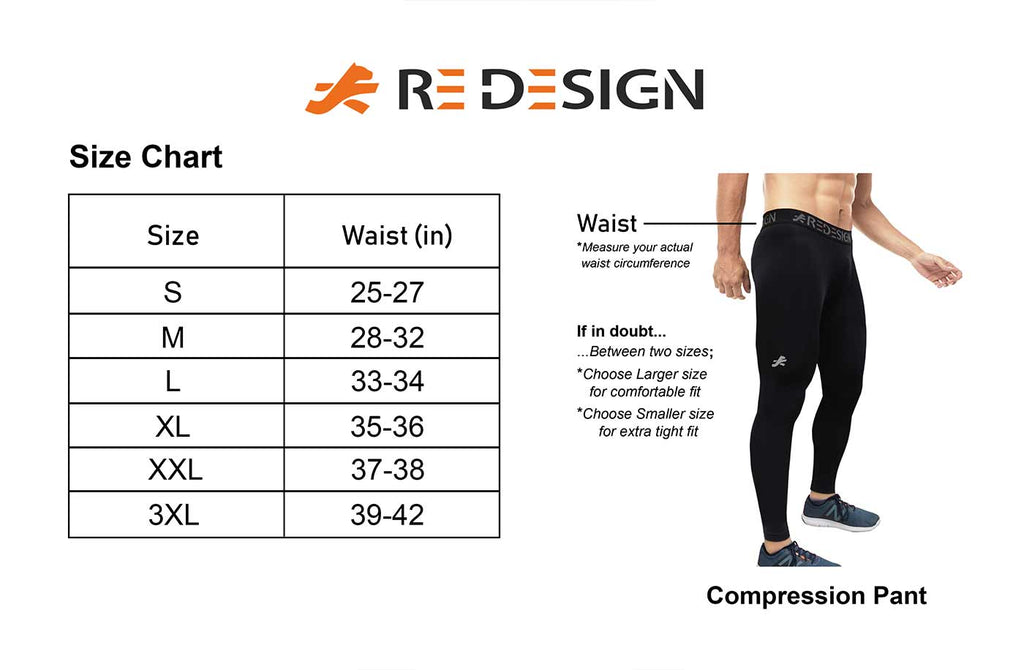 Nylon Compression Pant and Full Tights For Men (Black)