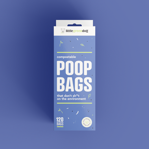10 Pack Compostable Dog Poop Bags NZ | Little Green Dog