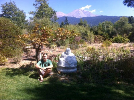 The Buddah of Mt. Shasta