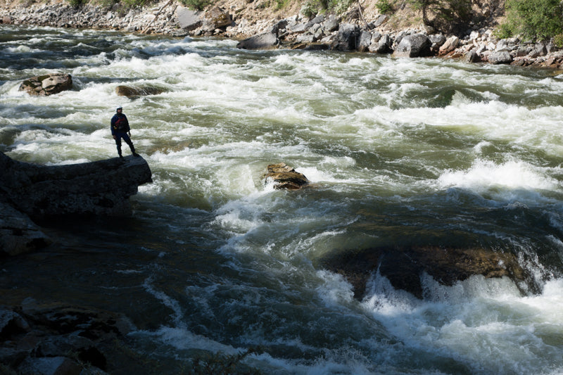 Unlike the world renowned rafting runs down the Middle Fork and Main Salmon Rivers, the South Fork is deemed too difficult and dangerous for commercial activity and thus remains permit-free, wild and pristine.