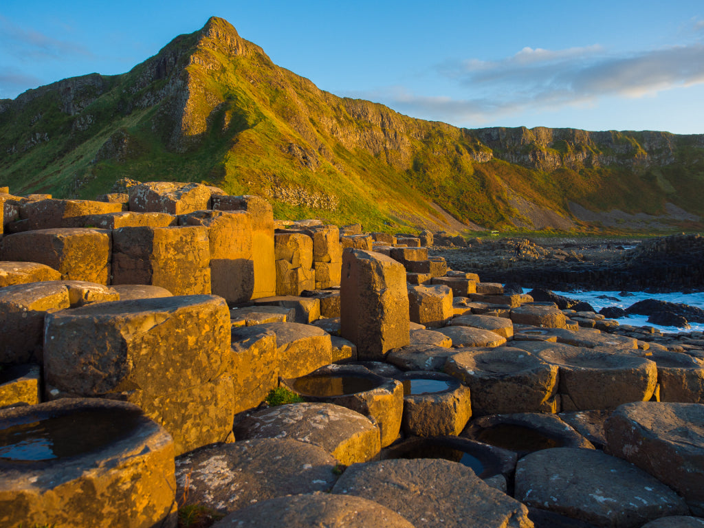 The Giant's Causeway Coast at sunrise.