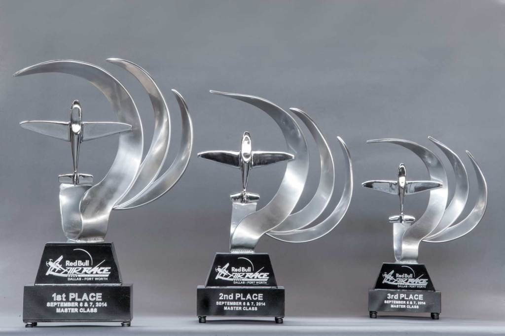 Red Bull Air Race Trophies