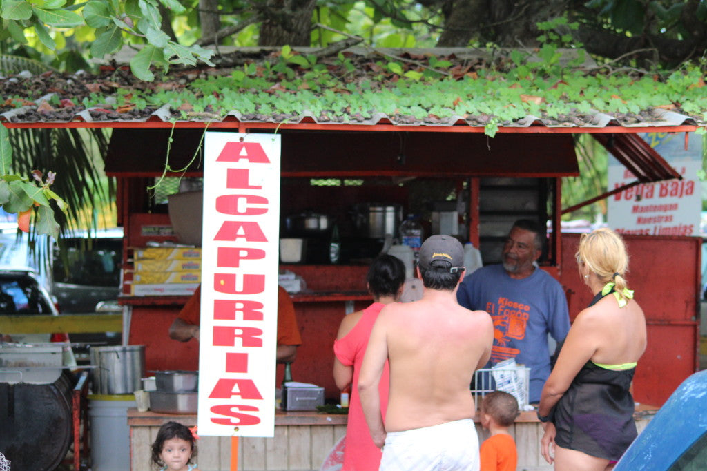 El Fogon - a typical Puerto Rican kiosko.