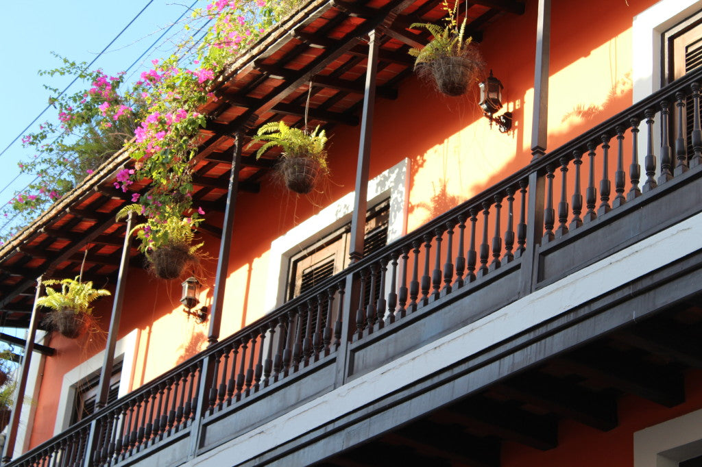 A veranda in Old San Juan.