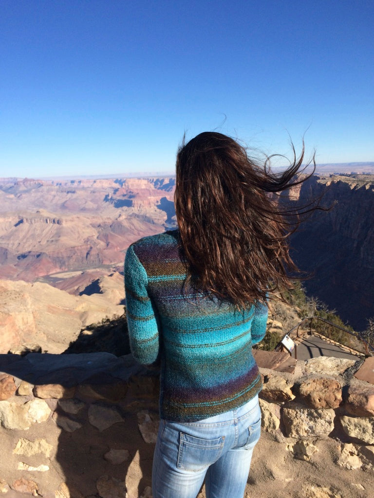 Maeve at the Grand Canyon
