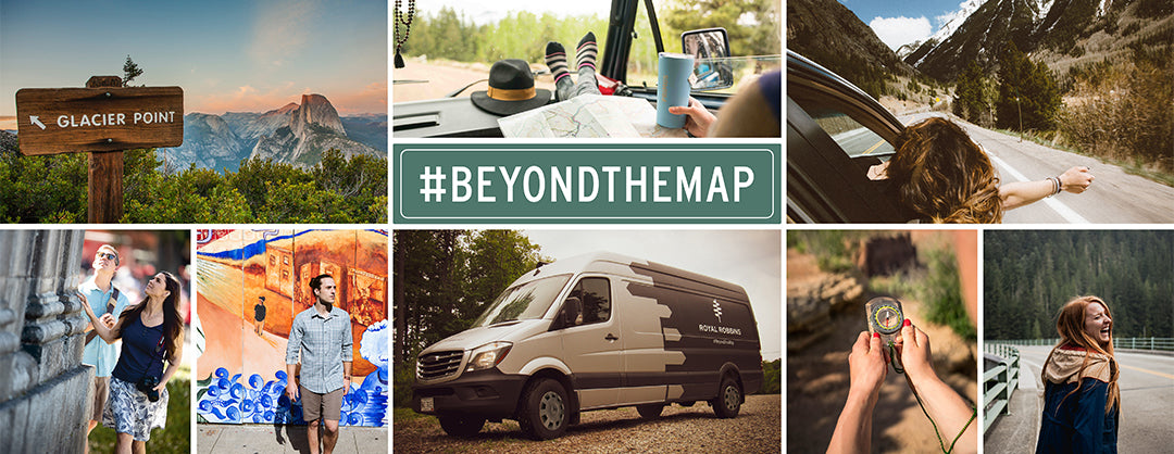 Royal Robbins Beyond the Map Road Show composite travel images
