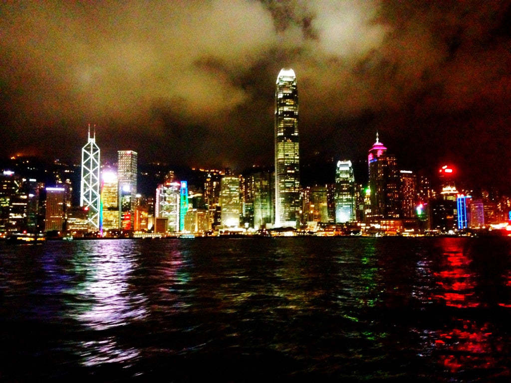 Hong Kong skyline from the Star Ferry