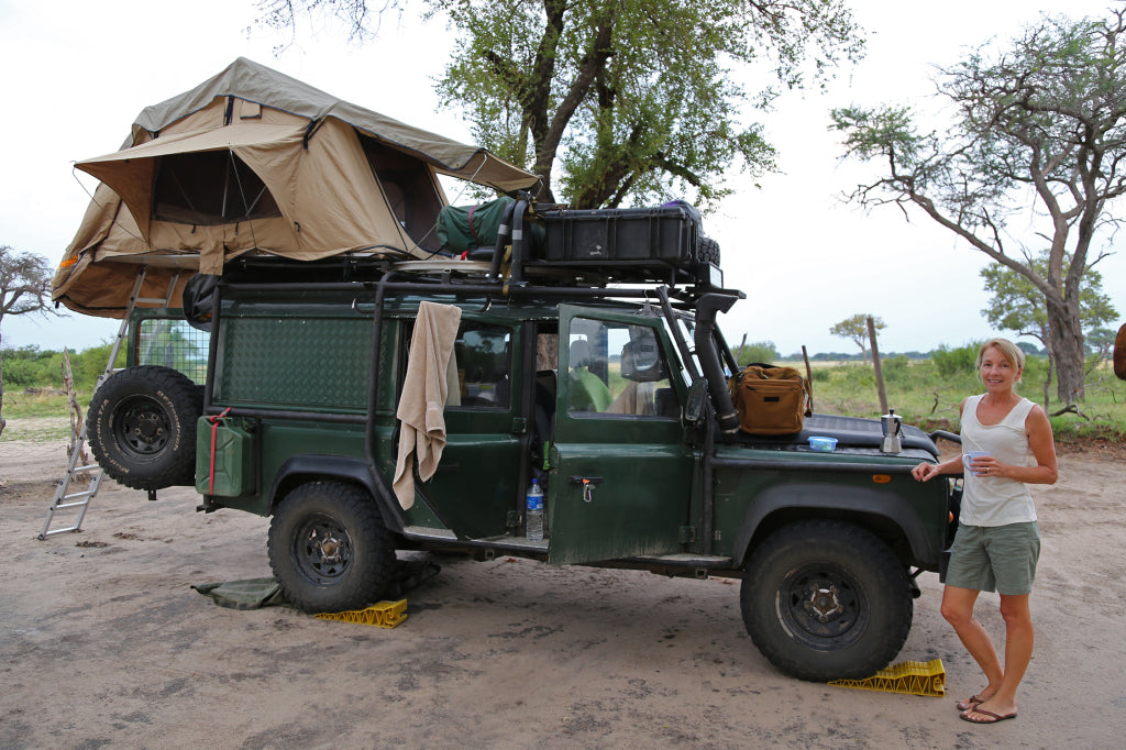 "Our movable  ""house"" - Hwange National Park, Zimbabwe"
