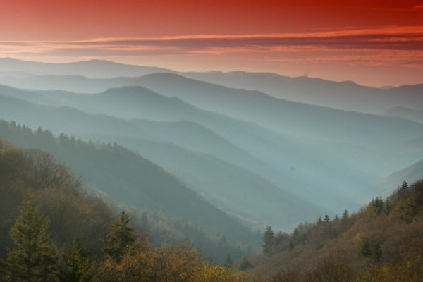Great Smoky Mountains National Park.  Photo by: NPS.gov