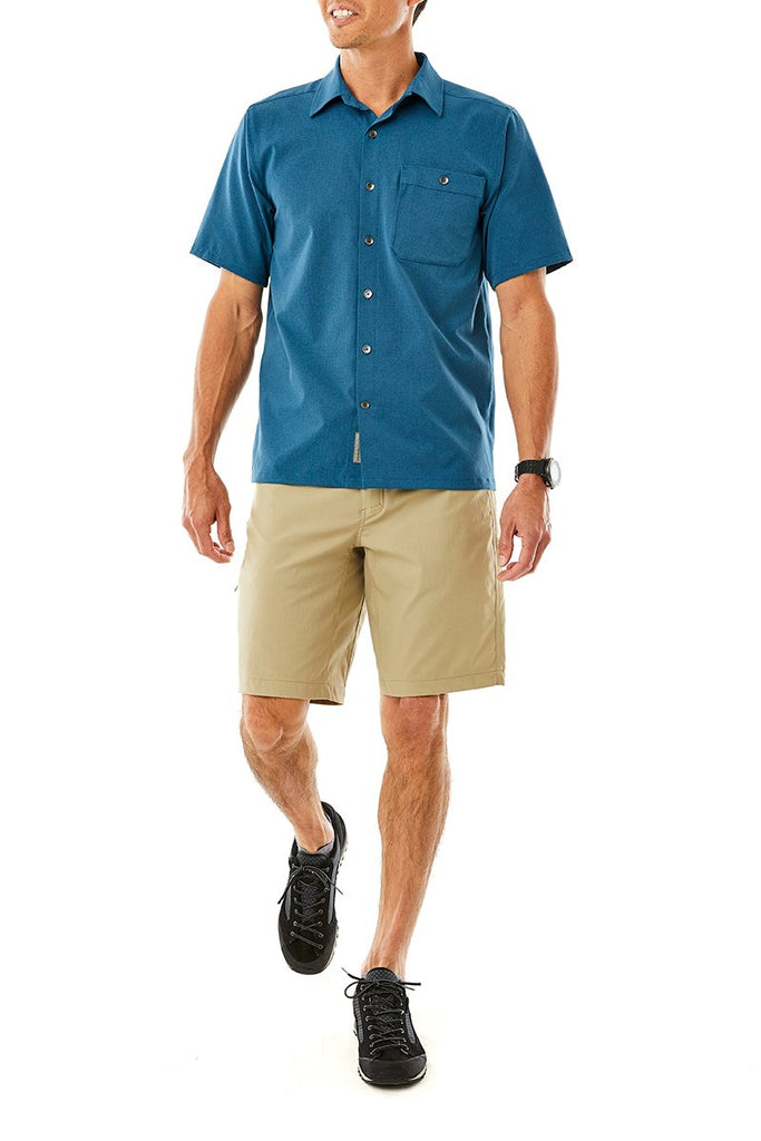 Men's Rockwood Short Sleeve On Model Men's Rockwood Short Sleeve