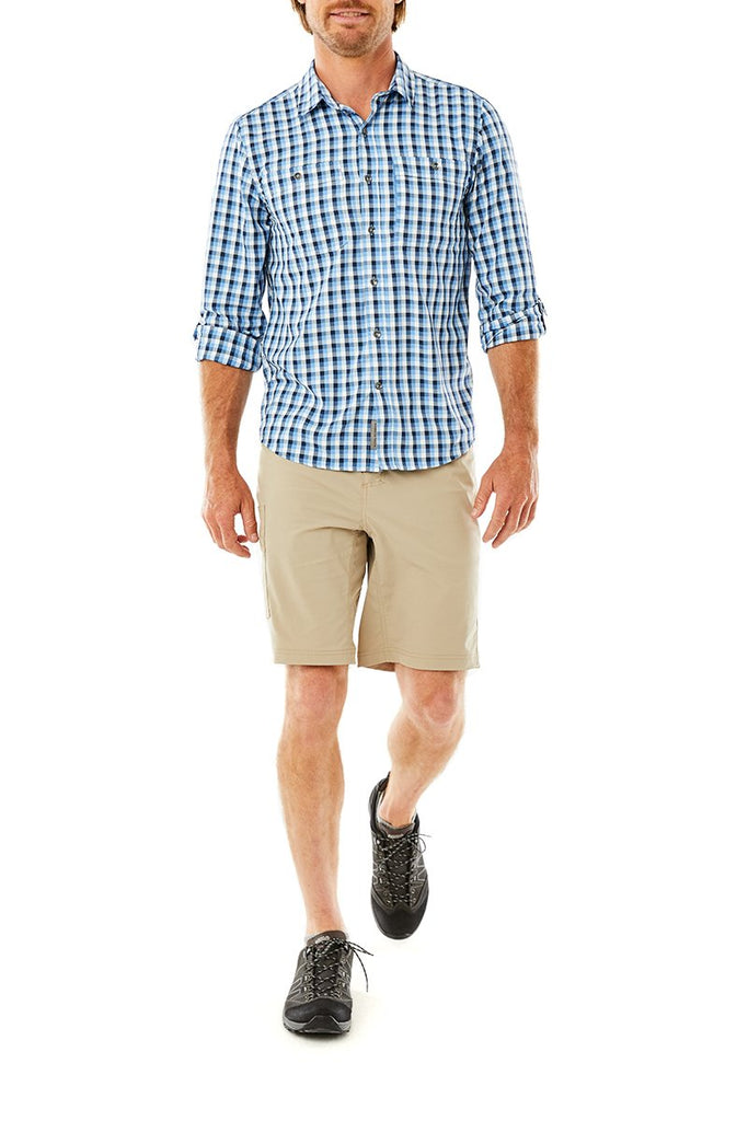 Men's Active Traveler Stretch Short On Body Men's Active Traveler Stretch Short
