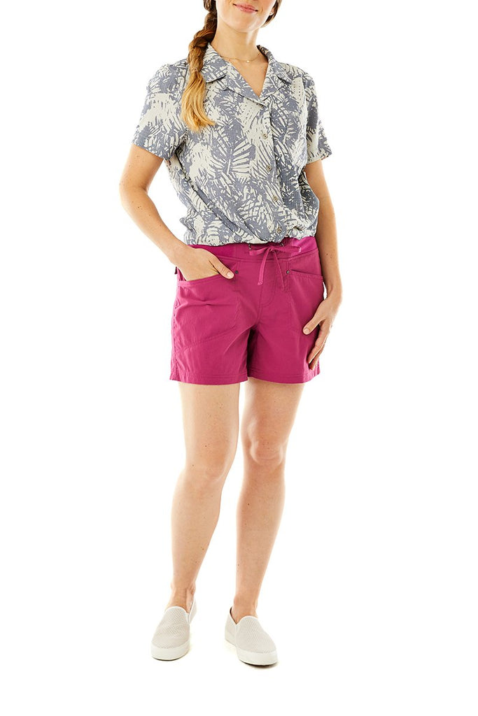 Women's Bergen Short Sleeve On Model Women's Bergen Short Sleeve