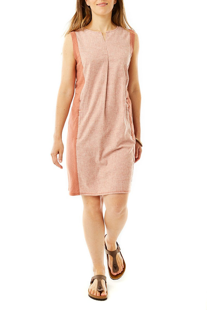 Women's Hempline Dress On Model Women's Hempline Dress