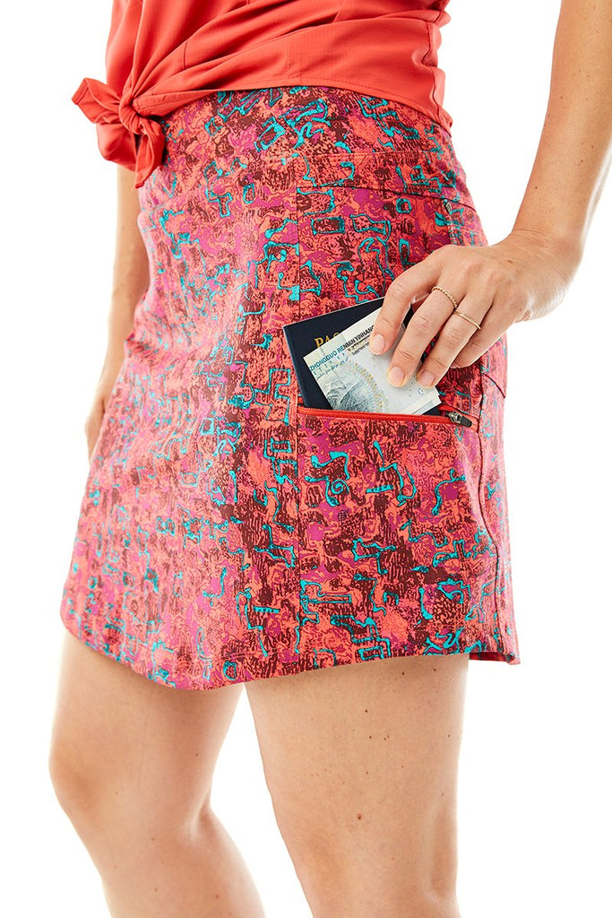 Women's Jammer Knit Skort II On Body Women's Jammer Knit Skort II