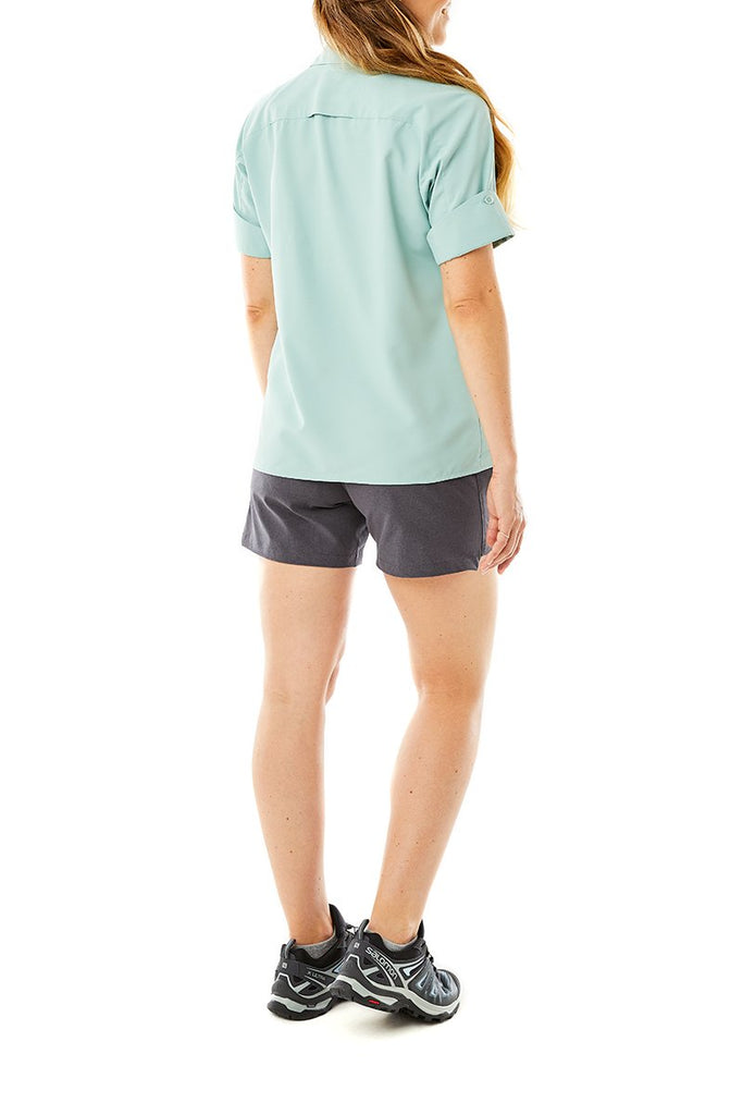 Women's Expedition Short Sleeve On Model Women's Expedition Short Sleeve
