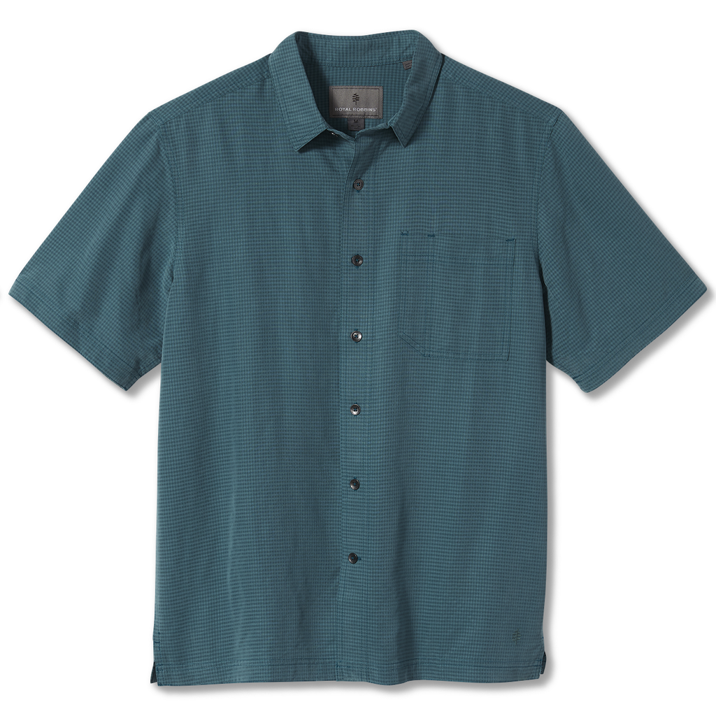 Men's Desert Pucker Dry Short Sleeve Shirt Men's Desert Pucker Dry Short Sleeve Shirt