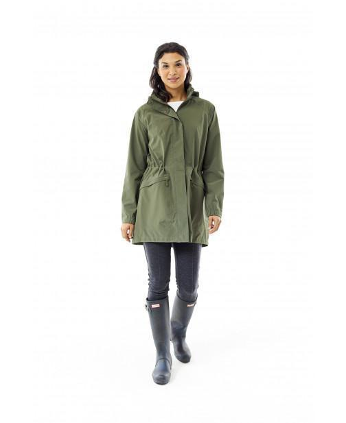 "Features eco-friendly, non-fluorinated Ec-0 DWRâ""¢ Women's Oakham Trench"