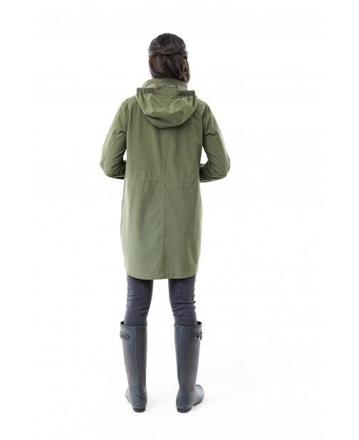 Internal adjustable waist for optimal comfort, fit, and styling Women's Oakham Trench