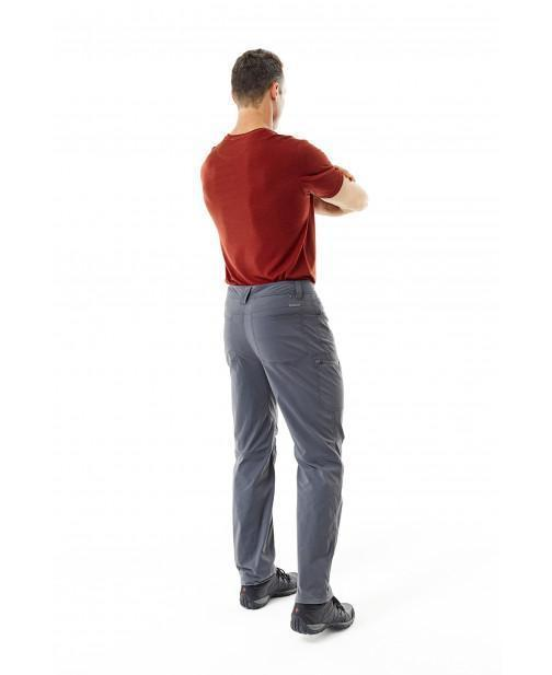Raised back texture keeps the fabric from sticking to your skin when you perspire Men's Active Traveler Stretch Pant