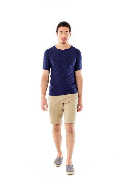 Flat seams to limit chafing Men's Tech Travel Tee