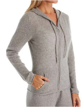 Load image into Gallery viewer, #3220 Cashmere Zipper Hoodie
