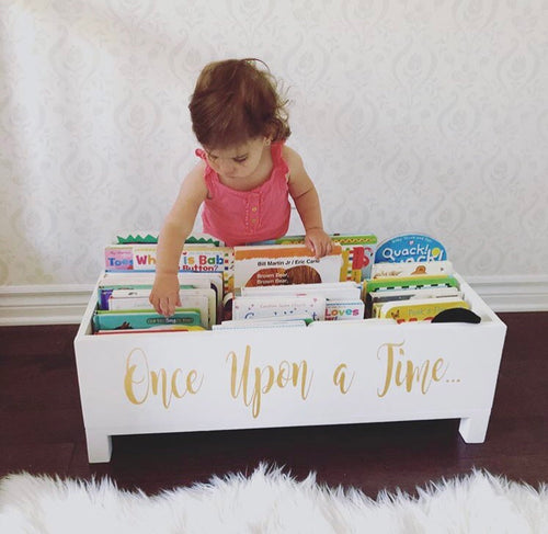 Once Upon A Time | Wood Book Box