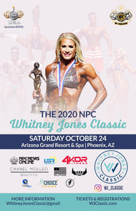 2020 Whitney Jones Class October 24 Phoenix, AZ