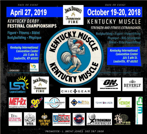 2019 Kentucky Muscle Pro/Am Oct  19 Louisville, KY