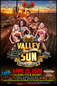 2020 Valley of the Sun Championships April 25 Scottsdale, AZ