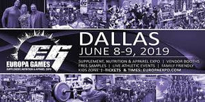 2019 Dallas Europa June 7-8 Dallas, TX