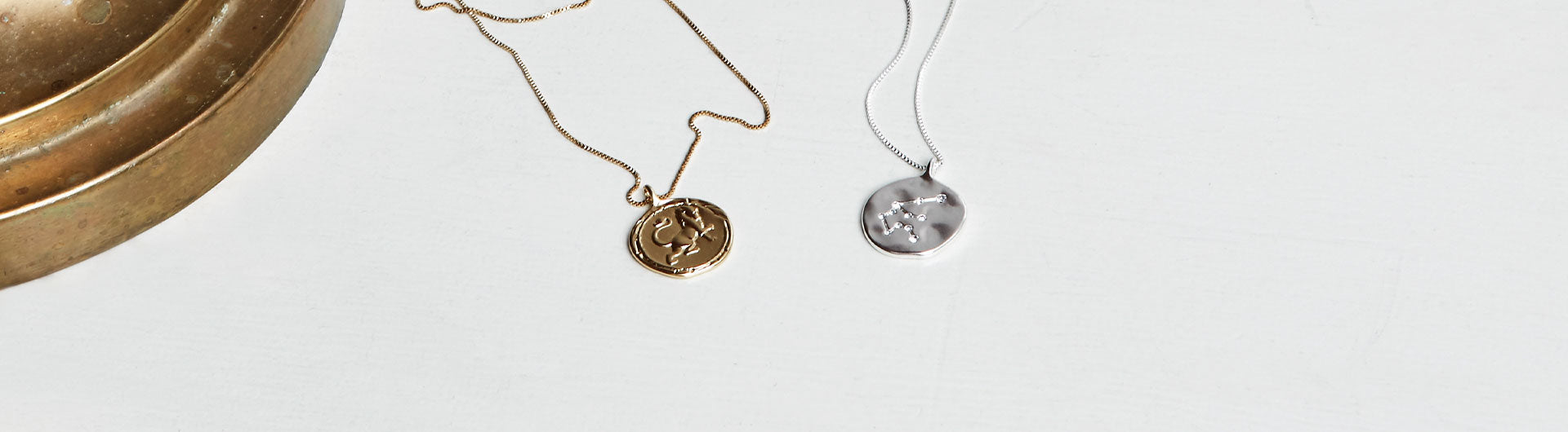 Dive deep into the world of astrology with meaningful jewellery. Astrology is looked at through the stars, the sun, and the moon to explain aspects of both personality and the future it holds.