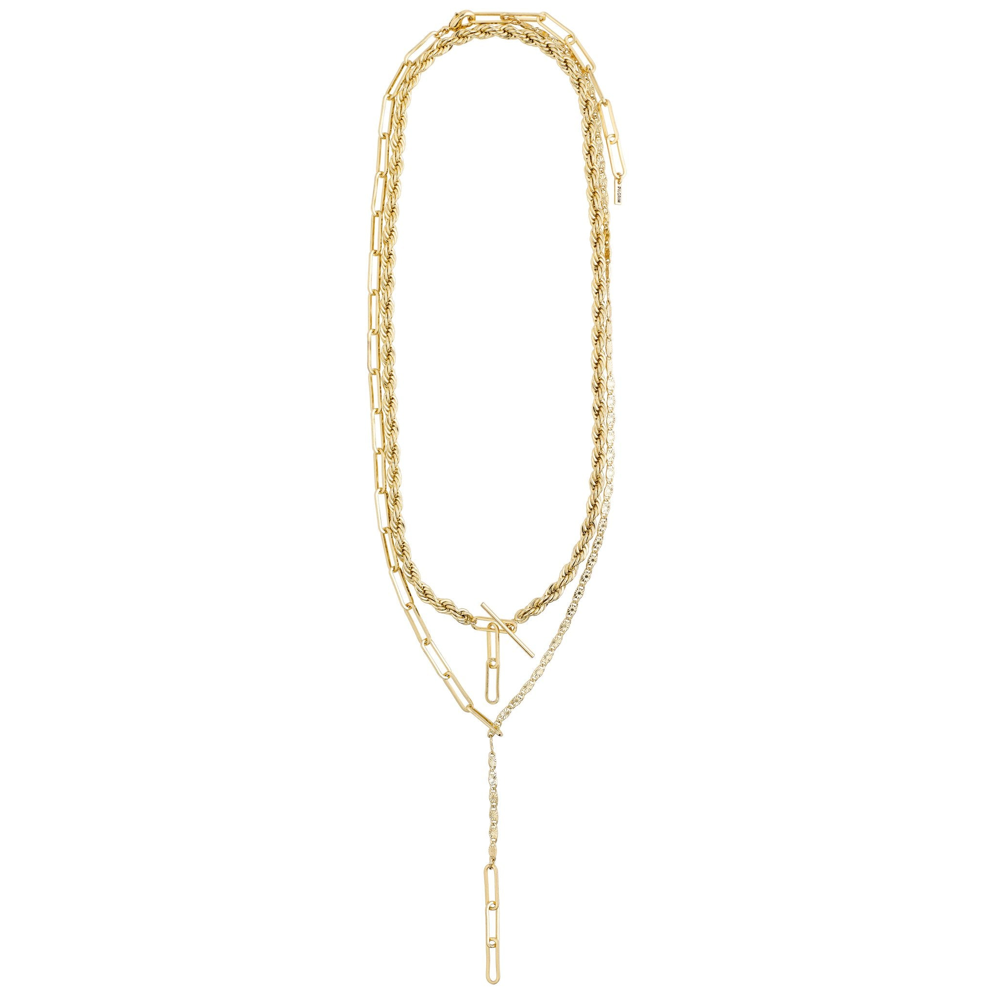 Simplicity Necklace - Gold Plated