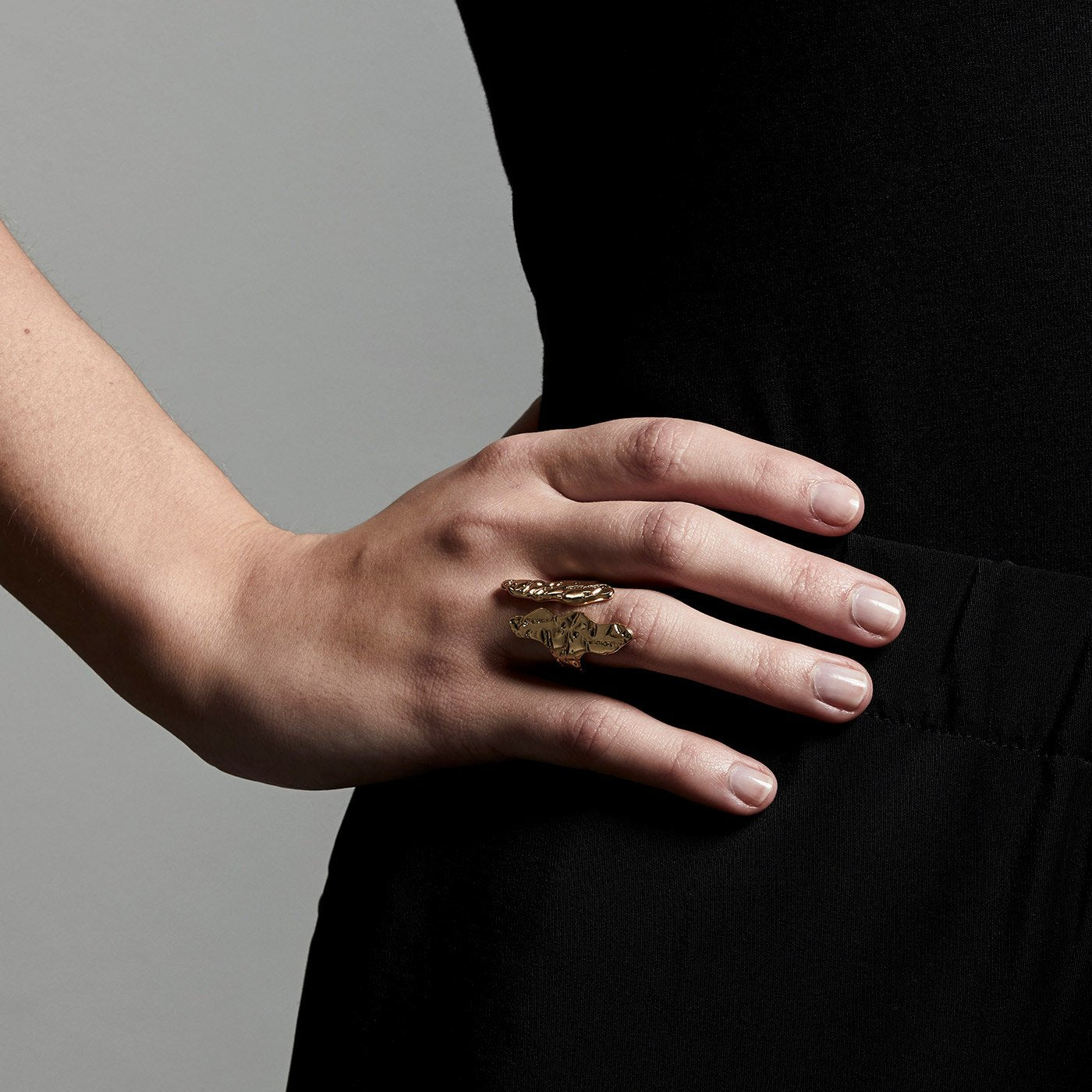 Compassion Ring - Gold Plated