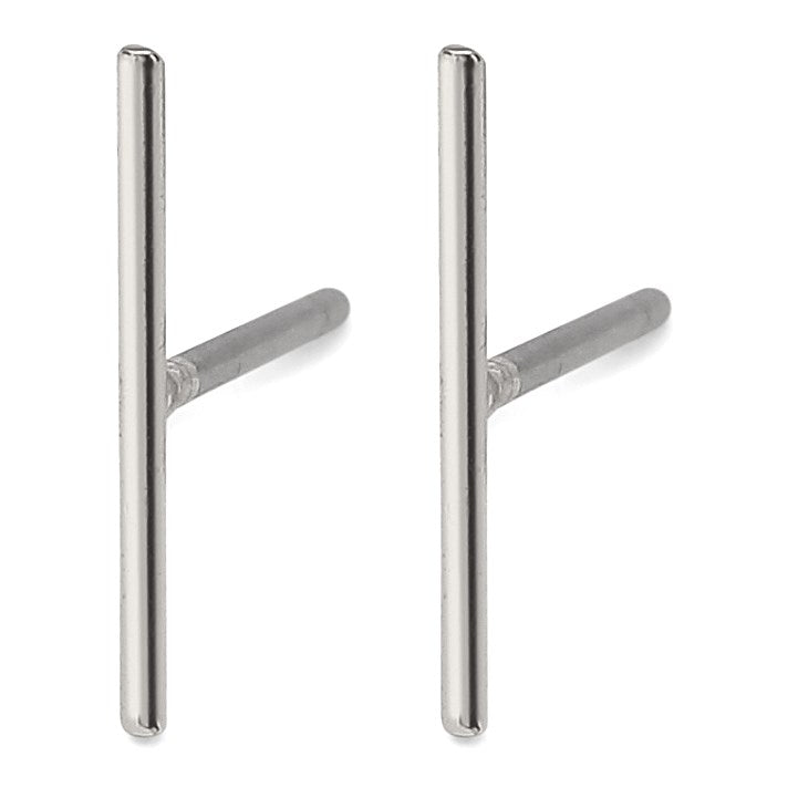 Marta Pi Earrings - Silver Plated