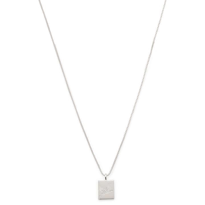 Tana Pi Necklace - Silver Plated